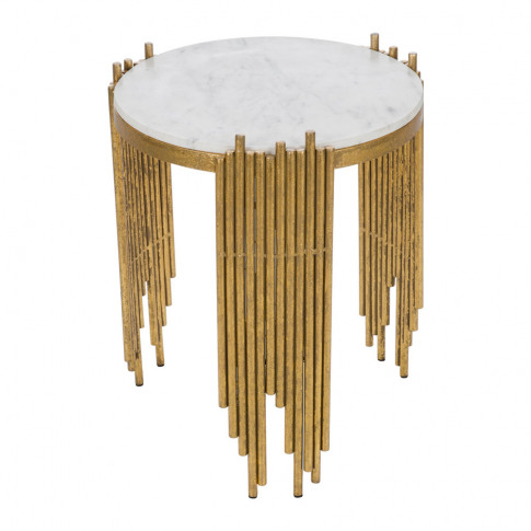 A By Amara - Spike Marble Side Table