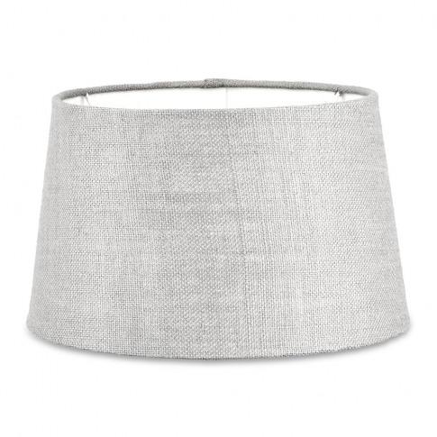 Nkuku - Dia Jute Lampshade - Stone - Medium