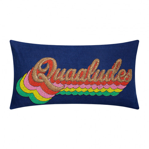 Jonathan Adler - Quaaludes Beaded Cushion - 50x30cm
