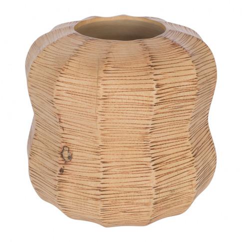 A By Amara - Wicker Round Vase