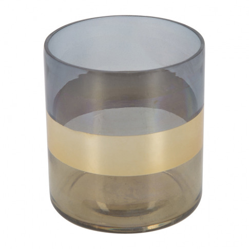 A By Amara - Gold Banded Tealight Holder
