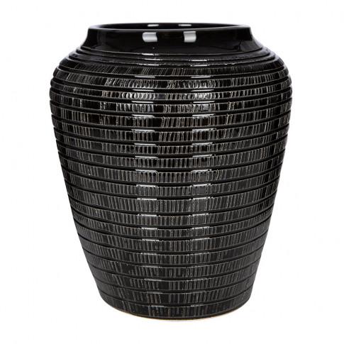 Bergs Potter - Willow Vase - Black - 25cm