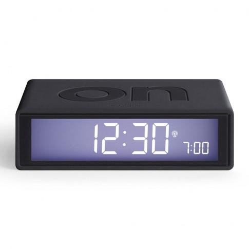 Lexon - Flip+ Alarm Clock - Gunmetal
