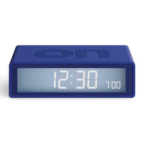 Lexon - Flip+ Travel Alarm Clock - Blue