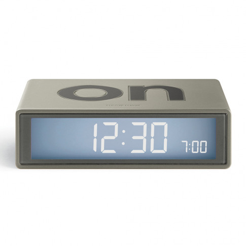 Lexon - Flip+ Travel Alarm Clock - Gold