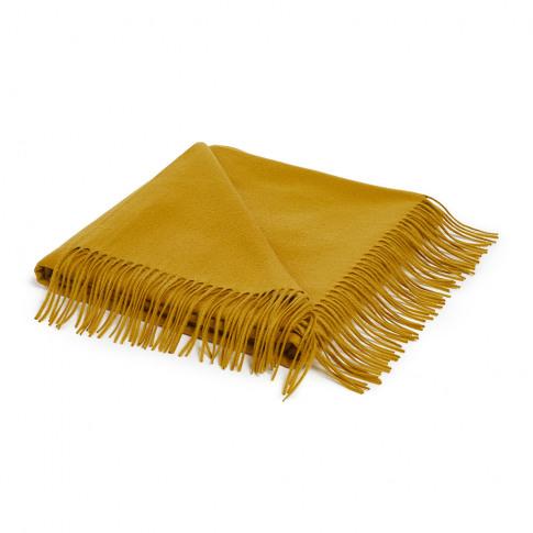 Soho Home - Portobello Throw - Mustard