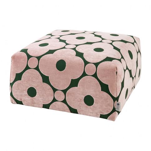 Orla Kiely - Longford Pouf - Poppy Spot Jade - Large