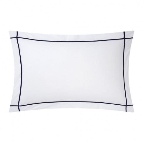 Yves Delorme - Athena Pillowcase - Marine - 50x75cm
