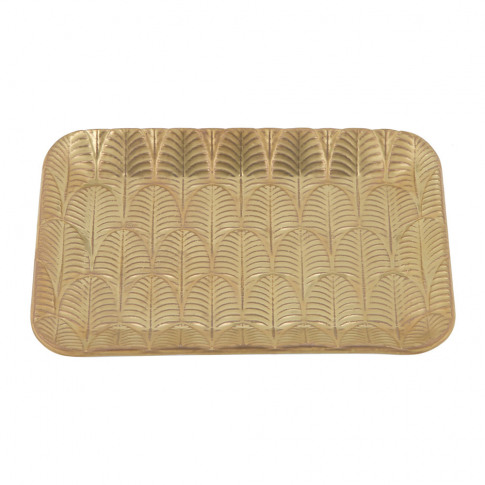 Villari - Peacock Soap Dish - Gold