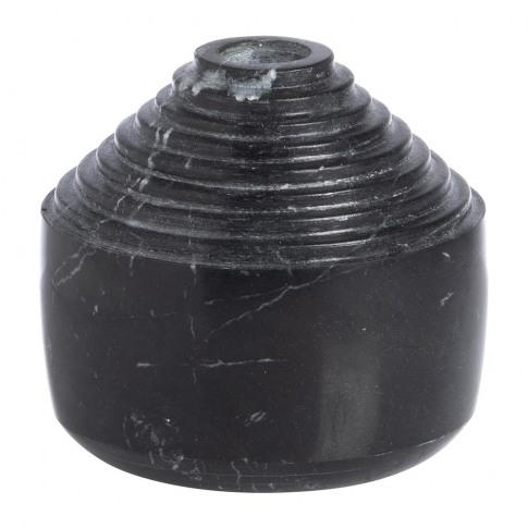Xlboom - Laps Candle Holder - Black Marble