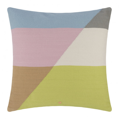 Jonathan Adler - Harlequin Fractal Cushion - Pastel