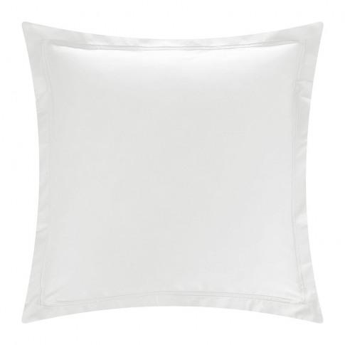 Yves Delorme - Triomphe Sateen Pillowcase - Silver -...