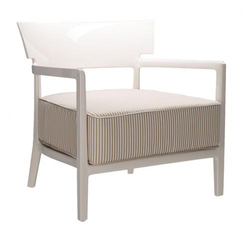 Kartell - Cara Outdoor Armchair - Ivory/Beige