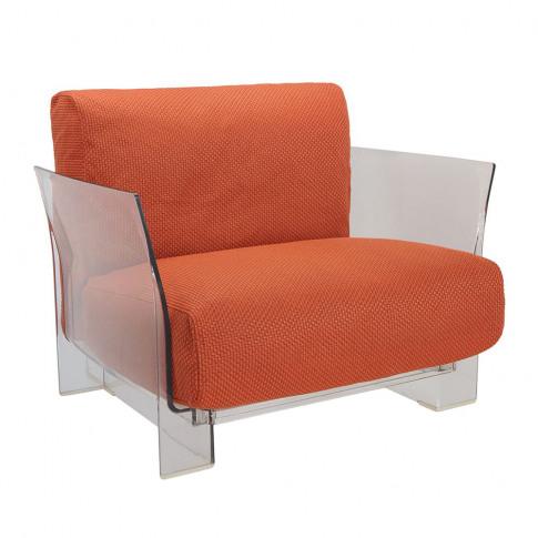 Kartell - Pop Outdoor Armchair - Orange