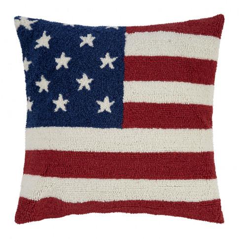 Peking Handicraft - American Flag Cushion - 45x45cm