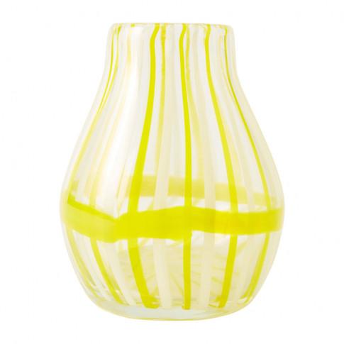 Anthropologie Home - Venezia Cane Vase - Yellow - Small