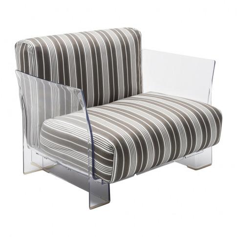 Kartell - Pop Outdoor Armchair - Dove Grey