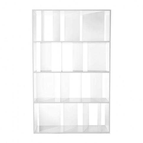 Kartell - Sundial Bookcase - White/Crystal