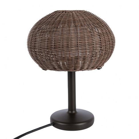 Bover - Garota Rattan Table Lamp - Brown