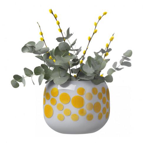 Nude - Mono Box Iris Inspiration Vase - Yellow