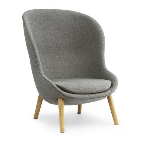 Normann Copenhagen - Hyg Lounge Chair - Main Line Flax