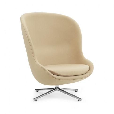 Normann Copenhagen - Hyg Swivel Lounge Chair - Synergy