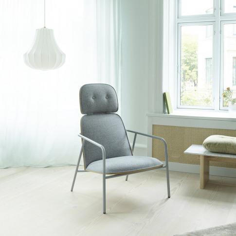 Normann Copenhagen - Pad Lounge Chair - Oak/Synergy