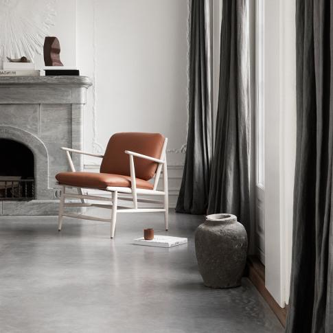 Ercol - Von Armchair - Ash/Cognac Leather