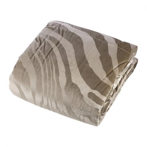 Roberto Cavalli - Macro Zebrage Monogram Quilted Bed...
