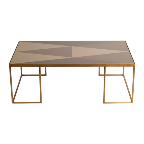 Ethnicraft - Geometric Bronze Coffee Table