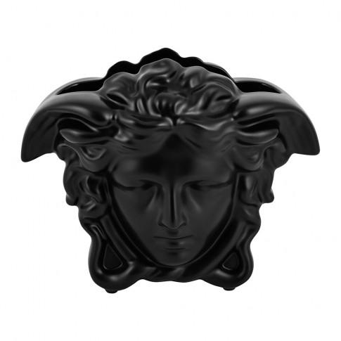 Versace Home - Medusa Grande Vase - Black - Large