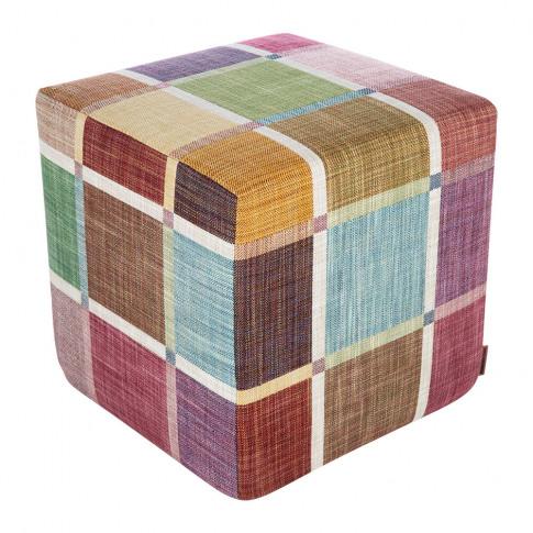 Missoni Home - Winchester Cube Pouf - 100 - 40x40x40cm