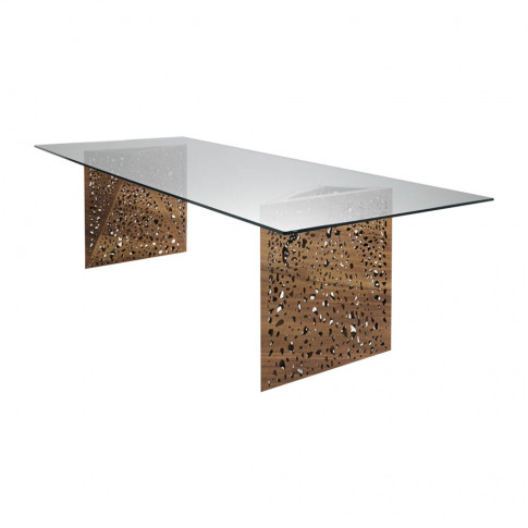 Horm & Casamania - Riddled Dining Table With Led - W...