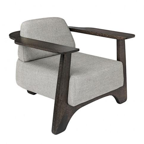 Mater - Legacy Armchair - Royal Nubuck/Almond Leather