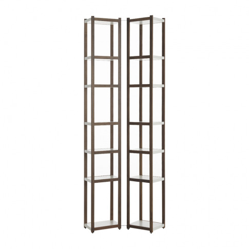 Horm & Casamania - Singles Bookcase - Walnut/White