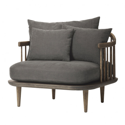 &Tradition - Fly Armchair - Smoked/Hot Madison