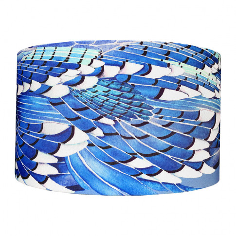 Anna Jacobs - Jay Wing Lampshade - Blue - Large