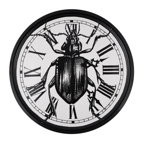 Rory Dobner - Supersize Beetle Clock Circular Tray