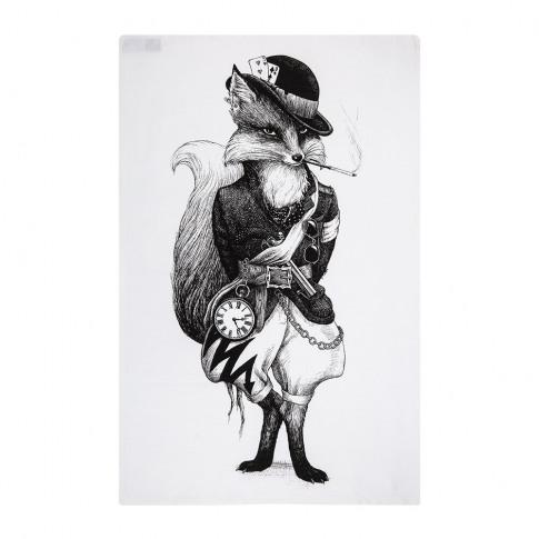 Rory Dobner - Terrific Tea Towels - Fantastic Mr Fox