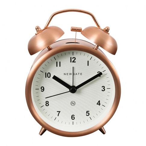 Newgate Clocks - Charlie Bell Alarm Clock - Radial C...
