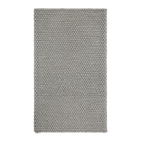 Hay - Peas Rug - Medium Grey - 80x140cm