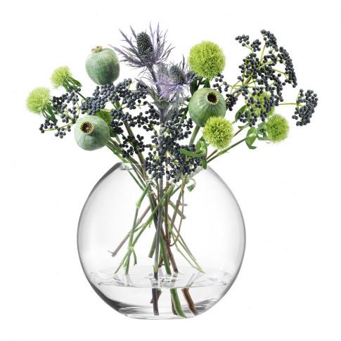Lsa International - Globe Vase - Clear - 26cm