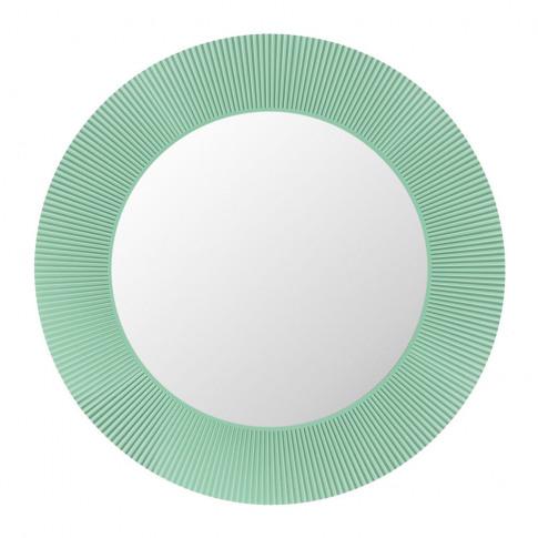 Kartell - All Saints Round Mirror - Aquamarine Green