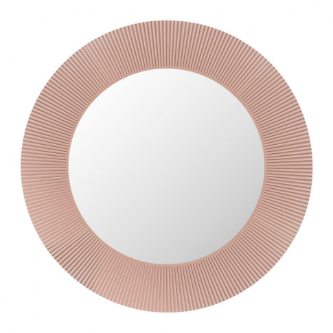 Kartell - All Saints Round Mirror - Nude Pink