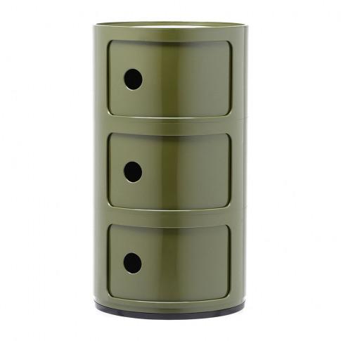 Kartell - Componibili Storage Unit - Green - Medium