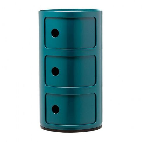 Kartell - Componibili Storage Unit - Blue - Medium