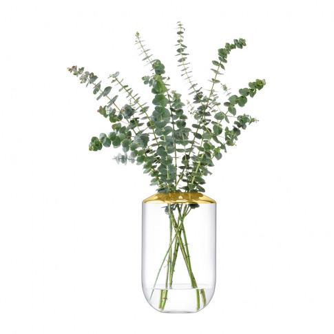 Lsa International - Space Vase - Gold - 25cm