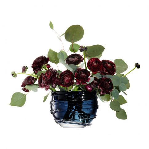 Lsa International - Yarn Vase - Sapphire Blue - 16cm