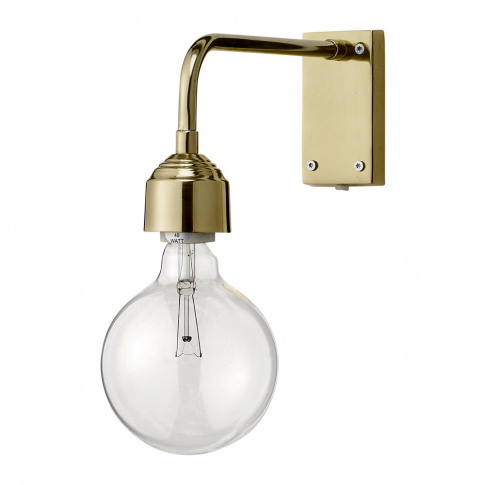 Bloomingville - Wall Lamp - Gold Finish