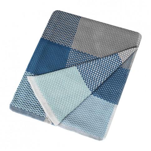 Muuto - Loom Throw - 180x130cm - Blue